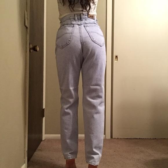 bcdc10aa Lee Jeans   90s Super High Waist Mom Straight Leg 26   Poshmark
